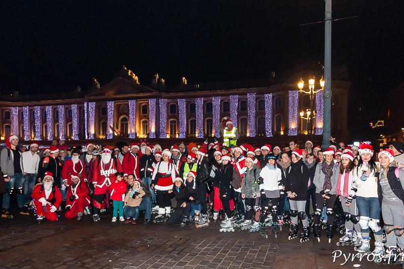 Roulez Rose organise la randonnée Père et Mère Noël de Purpan