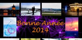 Bonne année 2014, carte de voeux virtuelle