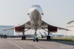 Le Concorde vu de face