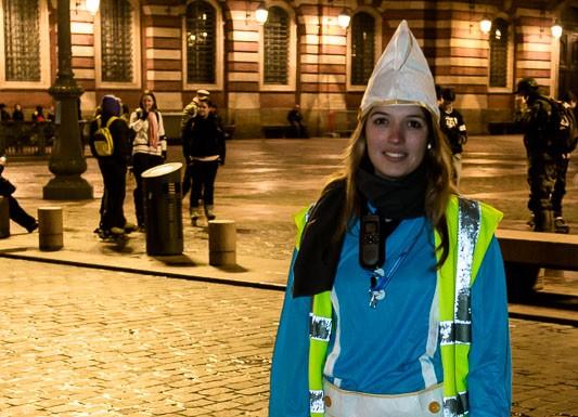 Roulez rose fait son carnaval dans les rues de toulouse - Image de stroumphette ...