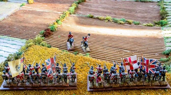 Les britanniques se lancent à l'assaut de la butte du Calvinet