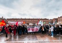 400 personnes réunis sur la place du Capitole contre le FN