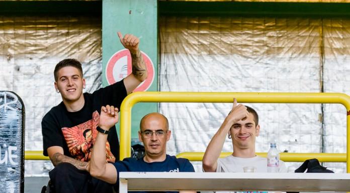 Les joueurs de Barcelone sont venus passer le WE à Toulouse pour voir la Rock'n Rose Europa Cup