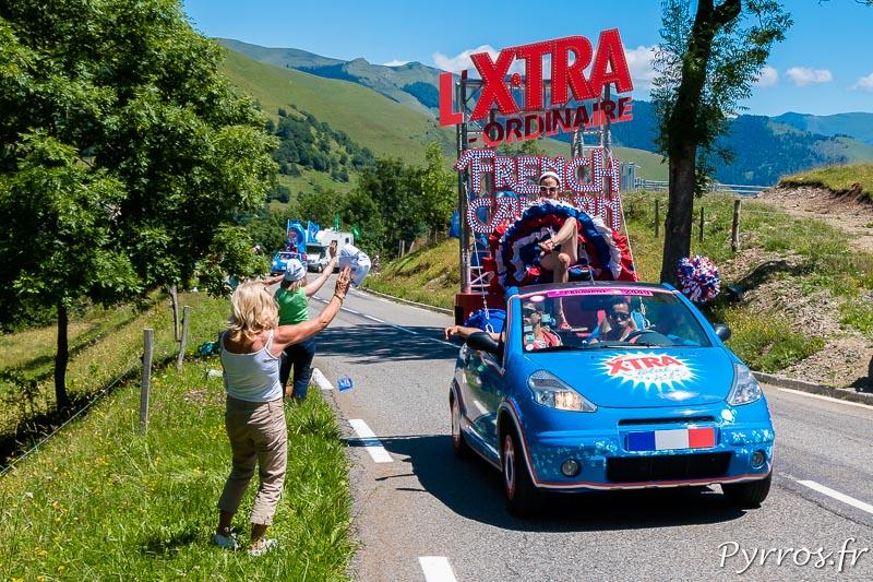 Caravane Publicitaire du Tour de France dans le col de Peyresourde, L'Xtra