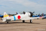 North American T-6 modifié pour prendre l'apparence d'un Zéro Mitsubishi A6M