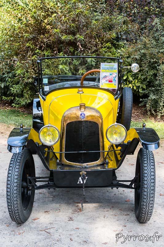 Citroen type C « petite citron » (1922)