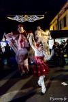 """Parade """"Féérie de Noël"""" par la compagnie Les Nuits Blanches, danse dans les rues de Blagnac"""