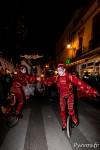 """Parade """"Féérie de Noël"""" par la compagnie Les Nuits Blanches, danse en monocycles"""