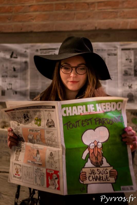 Rare étaient les Charlie Hebdo présents sur la place du Capitole