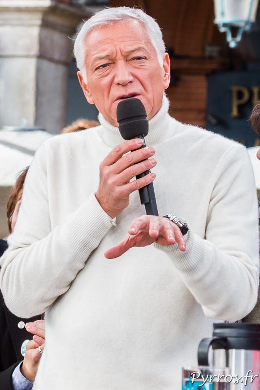 Laurent Boyer lors de l'émission du lundi