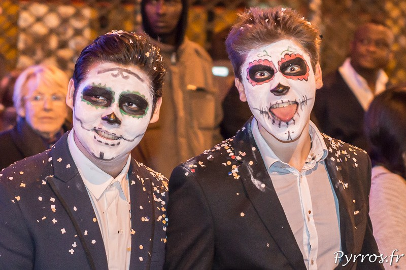 Les masques de la mort mexicain