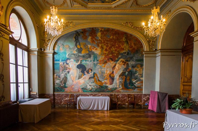 Peinture salle Gervais