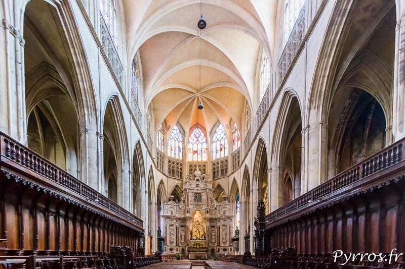Nef de la Cathédrale Saint Etienne