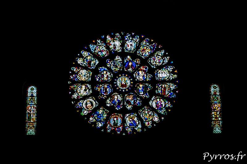 Rosace de la Cathédrale Saint Etienne