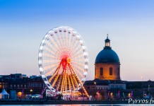 Le soleil se couche sur Toulouse Plage