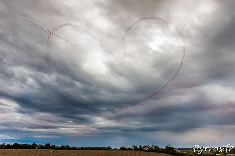 Les cœur de la Patrouille de France