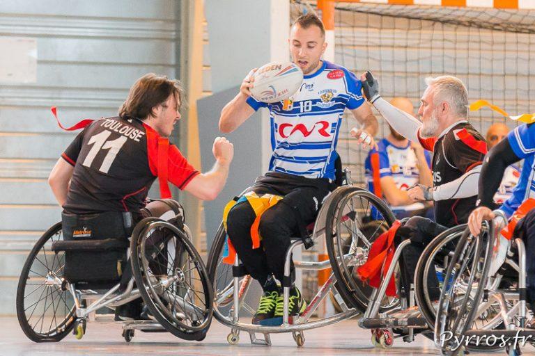 Fin de saison difficile pour le STRH rugby XIII fauteuil