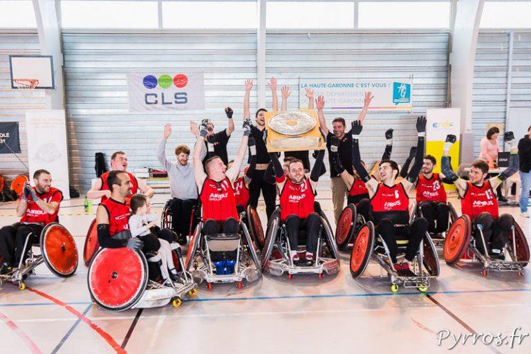 Toulouse remporte le Championnat de France de Quad Rugby