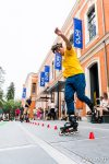 Démonstration de Slalom au Quai des Savoirs