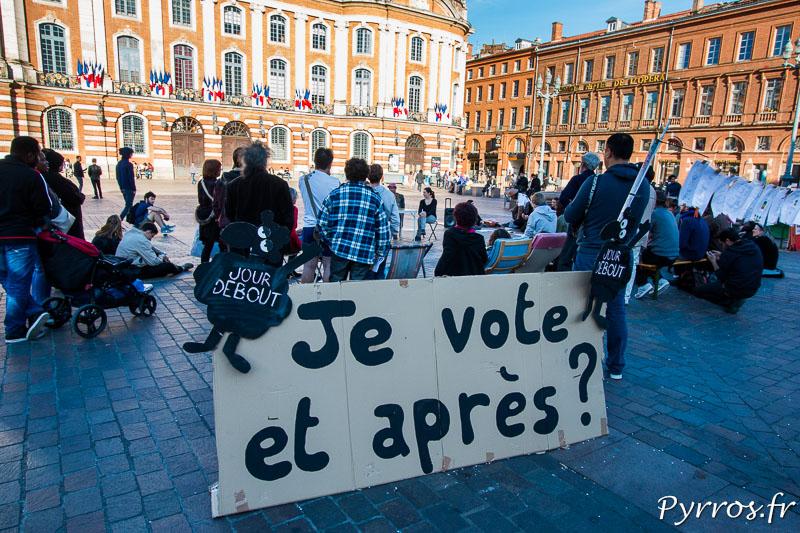 """Jour Debout se pose une question légitime : """"Je vote et après"""""""
