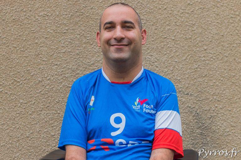 Tristan Delmas va jouer la Coupe du Monde de Foot Fauteuil