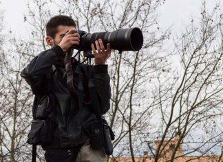 Pablo Tupin en action lors d'un reportage