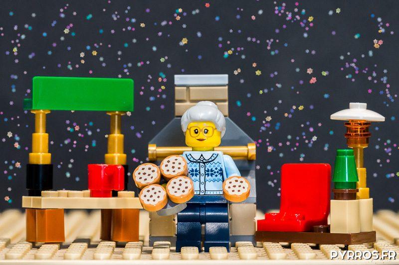 Une Mamie a fait de cookies pour les fêtes de fin d'année