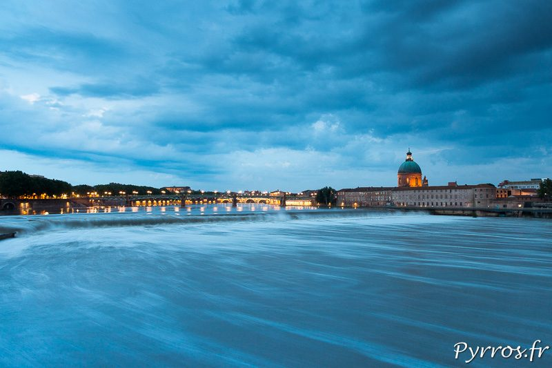 Des nuages menacent de faire gonfler un peu plus la Garonne