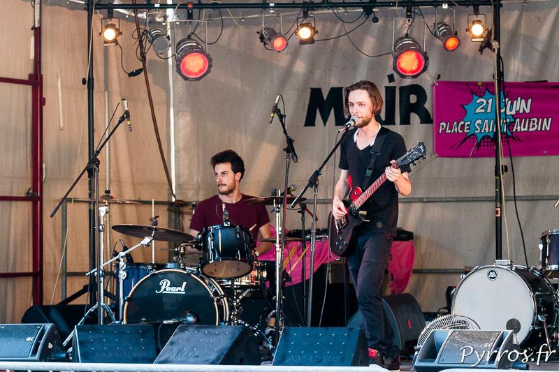 A Saint Aubin,les toulousains fêtent la musique à Toulouse