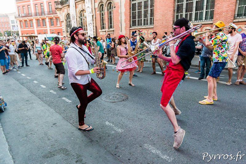 Les toulousains fêtent la musique à Toulouse