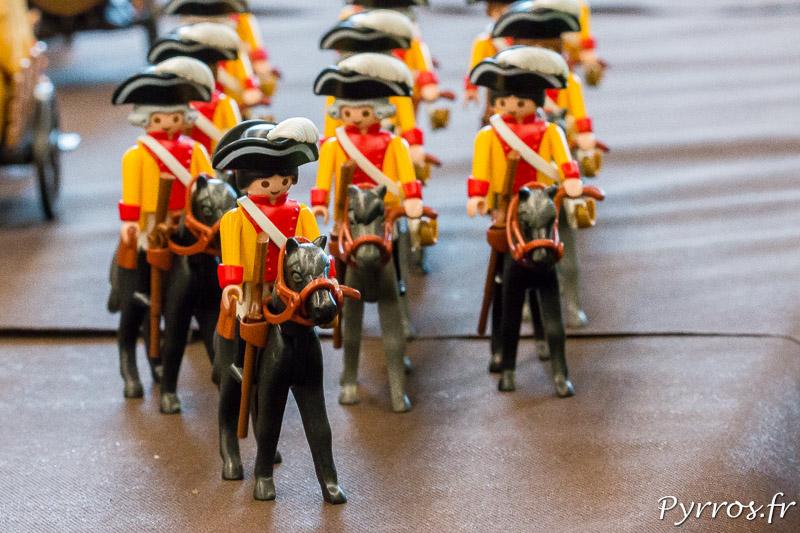 Les cavaliers du dioramas des pirates Playmobil