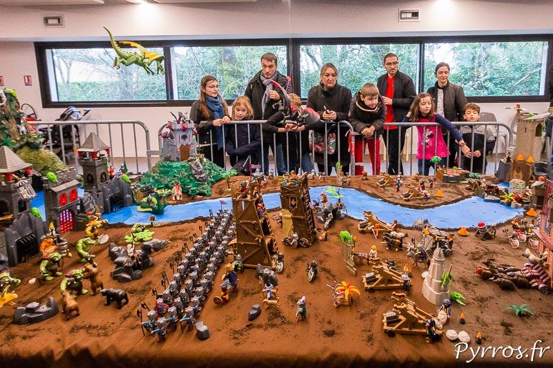 Diorama la bataille avec les dragons, Playmo du Sud