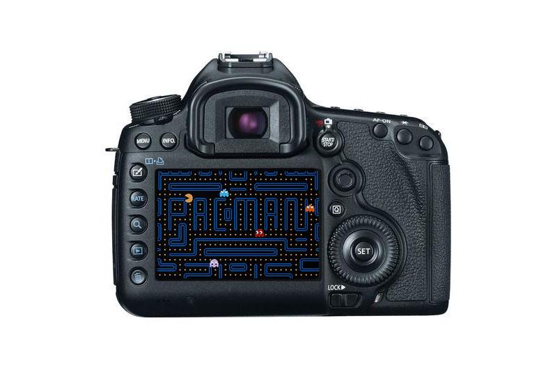Pacman débarque sur les boitiers reflex