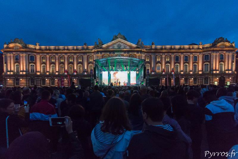 Place du Capitole lors de Fete de la Musique 2019