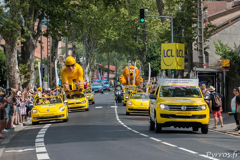 La Caravane LCL ouvre la farandole de camions publicitaires
