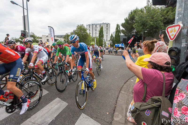 Le Tour De France Passe A Toulouse