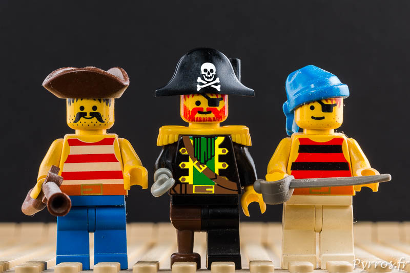 minifigures du gang des pirates