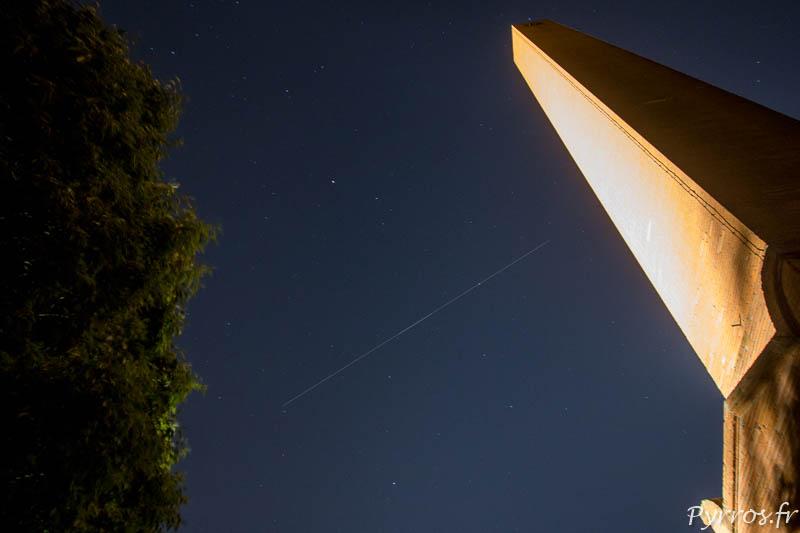 Dans le ciel toulousain passe la caspule Crew Dragon lors de la mission Spx DM-2