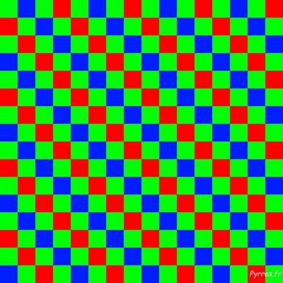 La matrice de bayer élément indispensable pour dé-matricer un fichier raw