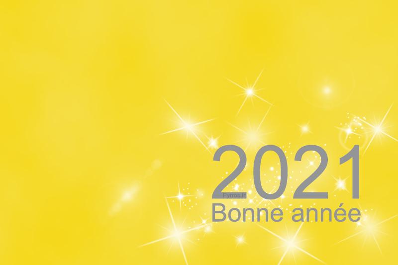Bonne année 2021 sur Pyrros.fr